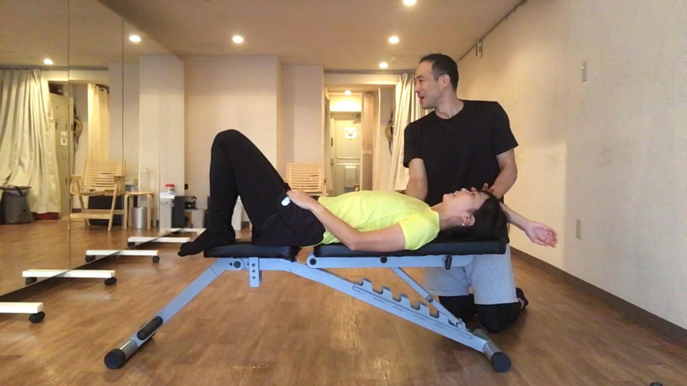 ダイエットと肩こり腰痛改善が同時に行える恵比寿Mind_Bodyのパーソナルトレーニング